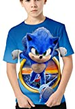 HAOSHENG Niño 3D Camiseta Impreso con Lindos Personajes de Dibujos Animados Harajuku Casual Camiseta para Niñas(140)