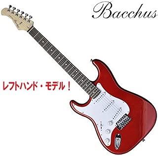 レフトハンド/左利き用・バッカスのストラト・モデル|Bacchus BST-1R-LH CAR ストラトキャスター エレキギター/レフティ仕様 (CA/キャンディ・アップル・レッド)