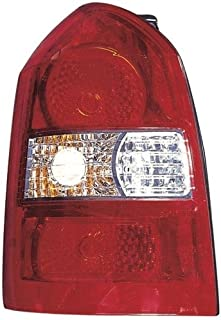 Go-Parts - OE Replacement for 2005 - 2009 Hyundai Tucson Rear Tail Light Lamp Assembly / Lens / Cover - Left (Driver) Side 92401-2E050 HY2800134 Replacement For Hyundai Tucson
