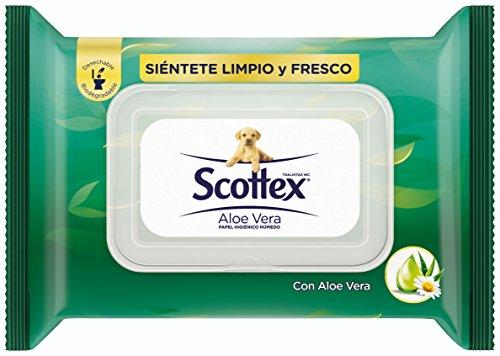 Scottex Sensitive Aloe Vera Papel higiénico húmedo