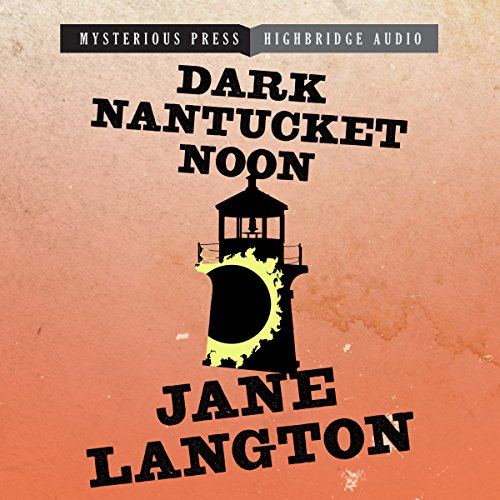 Dark Nantucket Noon audiobook cover art
