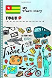 Togo Travel Diary: Kids Guided Journey Log Book 6x9 - Record Tracker Book For Writing, Sketching, Gratitude Prompt - Vacation Activities Memories Keepsake Journal - Girls Boys Traveling Notebook