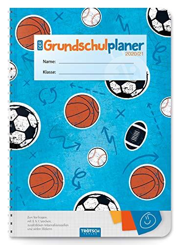 Trötsch Schulplaner Grundschulplaner Sport 2020/2021: Schülerkalender, Timer, Terminkalender, Hausaufgabenheft