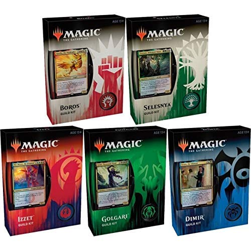 Magic The Gathering Guilds of Ravnica 1 Guild Kit- Sélection aléatoire - Francais - Random Selection - French