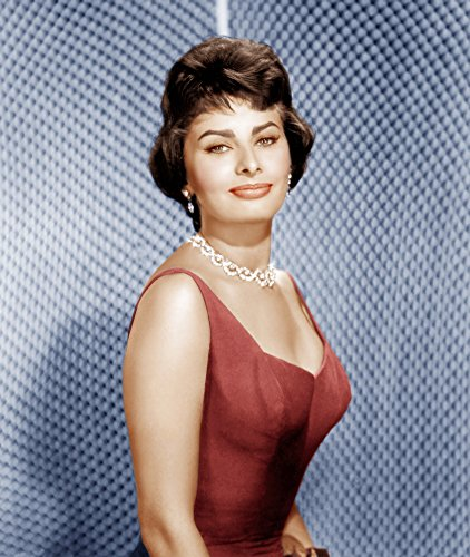 Posterazzi EVCP8DSOLOEC006H Sophia Loren Ca. 1950S Photo Print, 8 x 10
