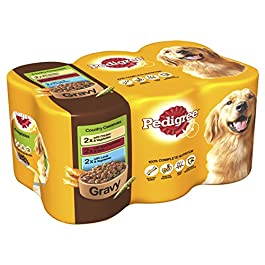 Pedigree Country Casserole in Gravy Dog Cans 6 Pack 400 Grammes