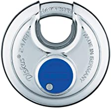 ABUS 24/60 Diskus Stainless Steel Padlock Keyed Different