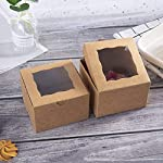 ONE-MORE-Mini-Pie-Boxes-Bakery-Boxes-with-PVC-Window-4x4x25inch-24PCS-of-Pack-Included-of-Stickers