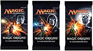 3 (Three) Packs of Magic: the Gathering - MTG: Magic Origins Booster Pack Lot (3 Packs)