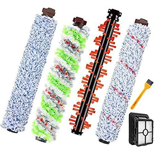 Knowoo Barre de Brosse Remplacement de la Brosse à Rouler Kit d'outils de Nettoyage à Domicile Accessoires durables pour aspirateur Kit de Brosse