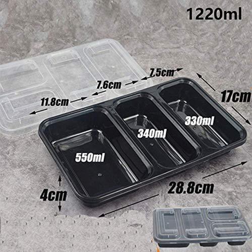 Nfudishpu 4 Couleur indépendante boîte à bento Fruits boîte à Aliments Micro-Ondes étanche boîte Alimentaire Cuisine boîte Alimentaire