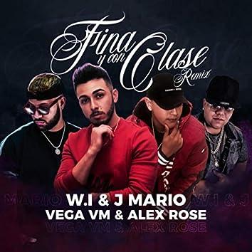 Fina y Con Clase (Remix) [feat. Alex Rose]