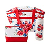 The Pioneer Woman Insulated 3 Piece Lunch Kit (Vintage Cluster)