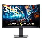 プリンストン ULTRA PLUS ゲーミングモニター 31.5型 (DisplayHDR 400/WQHD/144Hz/FreeSync 2/曲面ディスプレイ) PTFGHB-32C