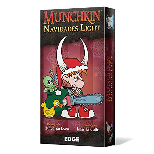 Edge Entertainment Munchkin Navidades Light - Español