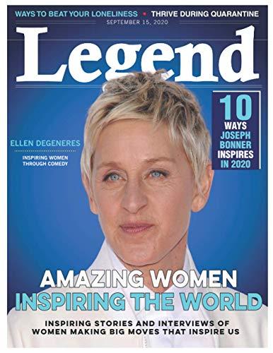 Legend: ELLEN DEGENERES