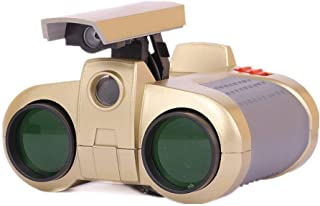 Night Scope binocular for childrens 4x30 Binocular Telescope Pop-up Light Night Vision Scope Binoculars Children Toy Gifts