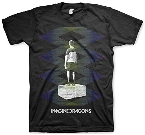 Imagine Dragons - Camiseta - Unisex de color Negro de talla Medium - Imagine Dragons - Uomo Zig Zag (Camiseta), Medium, Nero
