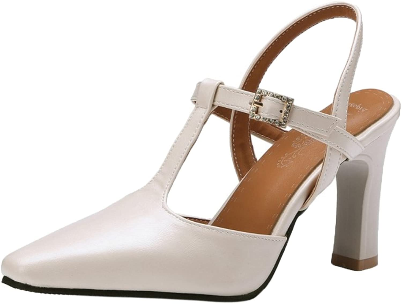 CarziCuzin Women T Strap Sandals