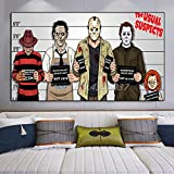 Poster Freddy Krüger Jason Michael Myers Chucky Horror