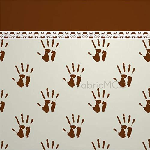 daoyiqi Pinkie - Juego de adhesivos decorativos para azulejos (16 x 16 pulgadas), diseño de azulejos de vinilo para el suelo, 12 unidades, impermeable, vinilo para decoración del hogar
