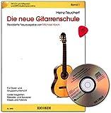 Die neue Gitarrenschule Band 1 von Heinz Teuchert - Revidierte Neuausgabe von Michael Koch - mit CD, Onlline Audio, Dunlop Plek - SY2952 9790204229529