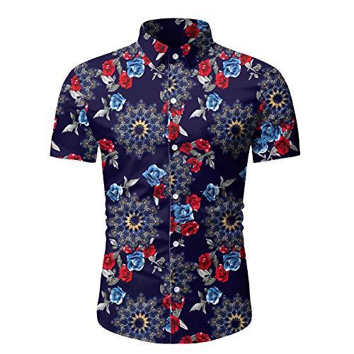 Camisas de Vestir de Negocios de Manga Larga con Cuello clsico Entallado Informal para Hombre, Ropa de Fiesta, Boda, graduacin XXL