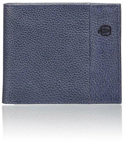 PIQUADRO Pulse Plus Portemonnaie 2x9x11 cm (B x H x T), blau (Blau) - PU4188P15S/BLU