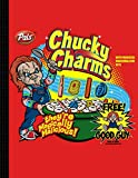 chucky charms blank comic book: blank comic book notebook create your own comics with this blank Big Size 8.5' x 11' Large, Over 120 Pages To Create Cartoons / Comics