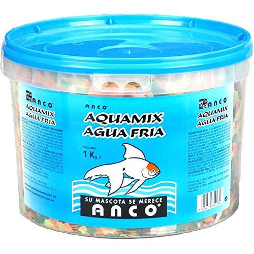 ANCO Comida en Escamas para Peces de Agua Fria, (1 kg)