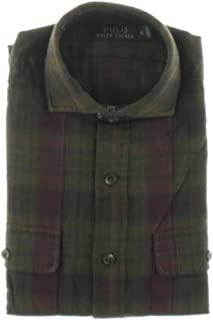 Polo Ralph Lauren Mens Plaid Adjustable Sleeves...