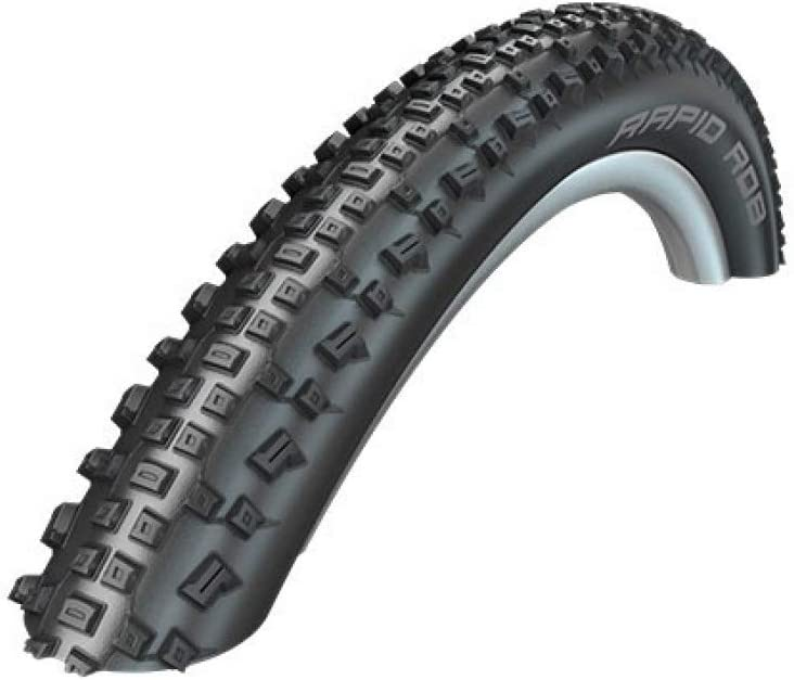 Schwalbe Rapid Rob Active Line, Drahtreifen Neumático de Bicicleta, Unisex Adulto
