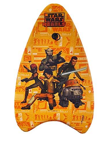 made2trade Tabla de bodyboard para niños – con parte inferior lisa – diseño de Star Wars Rebels – Longitud 82 cm