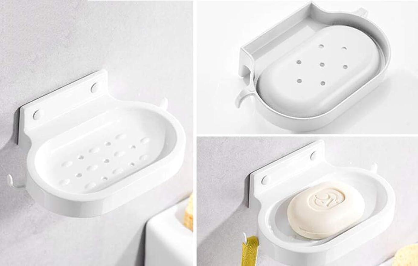 スペースアルミ、石鹸箱、浴室棚、石鹸ネット (色 : B-punch, サイズ : -)