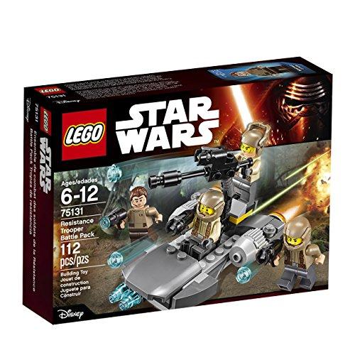 LEGO STAR WARS Resistance Trooper Battle Pack (112 Piece)