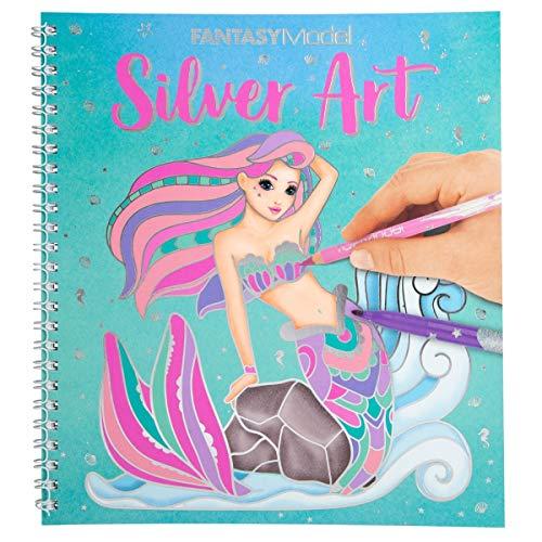 Fantasy Model Malbuch Silver Art 11237