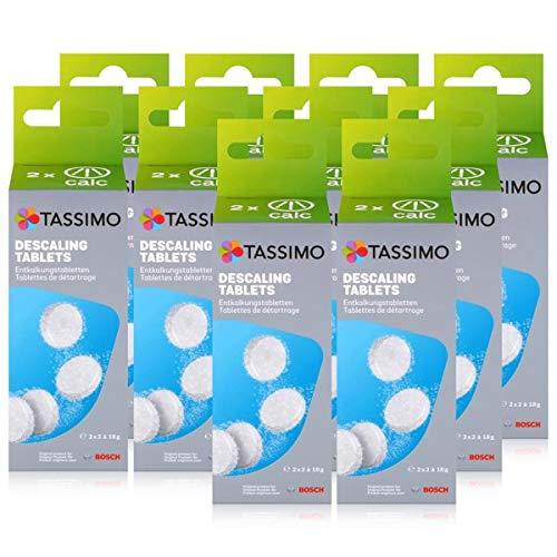 Bosch TCZ6004 Enkalkungstabletten für alle Tassimo Getränke-Automaten ( 10er Pack )