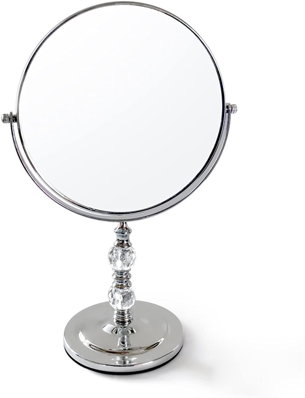 Double-Sided High-Definition Desktop Makeup Mirror Desktop Large Princess Mirror European Beauty Portable Mirror Mirror