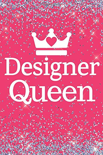 Designer Queen: Designer Queen 6x9inch Notebook/Planner. Great gift for fashion conscious Women, Girls and Teens who love designer brands. Ideal for ... Great Stocking Filler or Secret Santa.