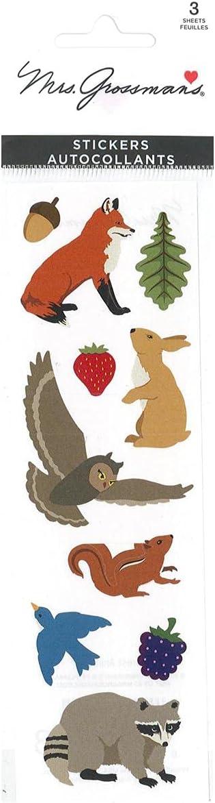 Mrs Grossman Forest Animals Stickers
