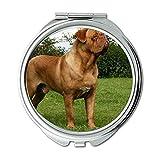 Mirror,Compact Mirror,Taco Dog doga terier zasnezena hora,pocket mirror,1 X 2X Magnifying