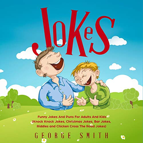 Jokes: Funny Jokes and Puns for Adults and Kids  By  cover art