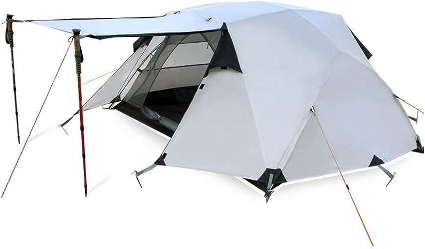 YANGDONGLI Tente De Camping en Plein Air Hiver Double Et Multijoueur Sauvage Multijoueur en Aluminium des Quatre Saisons