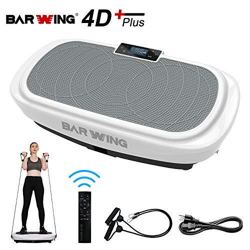 BARWING 4D Vibration Platform, Micro Vibration, Whole Body Workout Machine, Home Training Equipment...