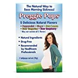 Preggie Pops | 7 Lollipops | Morning Sickness & Nausea Relief during pregnancy | Safe for pregnant Mom & Baby | Gluten Free | 7 Flavors: Lemon, Raspberry, Peppermint & More