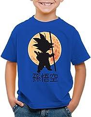 style3 Goku Moonlight Camiseta para Niños T-Shirt