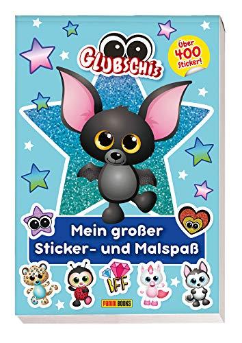 Glubschis: Mein großer Sticker- und Malspaß: über 400 Sticker