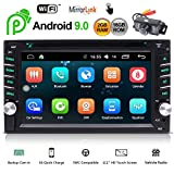 EINCAR Android 9.0 Car Stereo Double Din Head Unit with Bluetooth 6.2'' Touchscreen Car Radio Player GPS...
