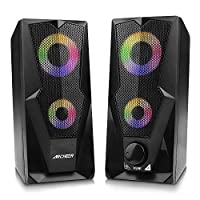 ARCHEER Altavoces PC, Altavoz 2.0 USB Gaming