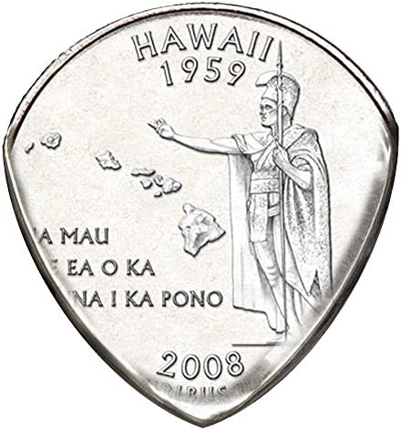 State Coin Guitar Pick Hawaii product image